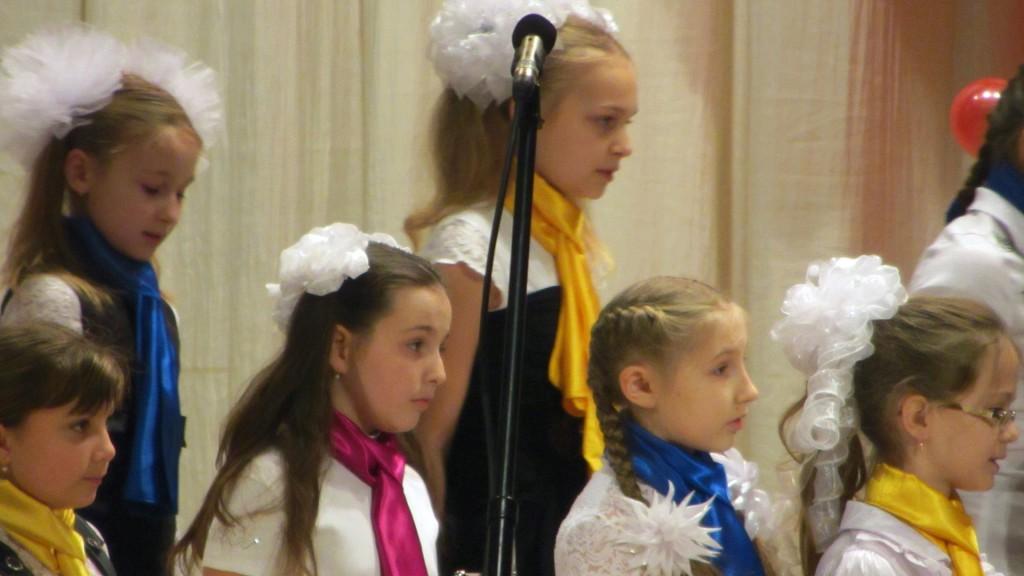 I фестиваль детских хоров им. М.И. Дейнеко. Видео