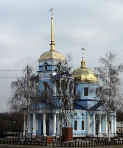 Тихвинский храм_