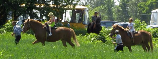 Катание на лошадях_