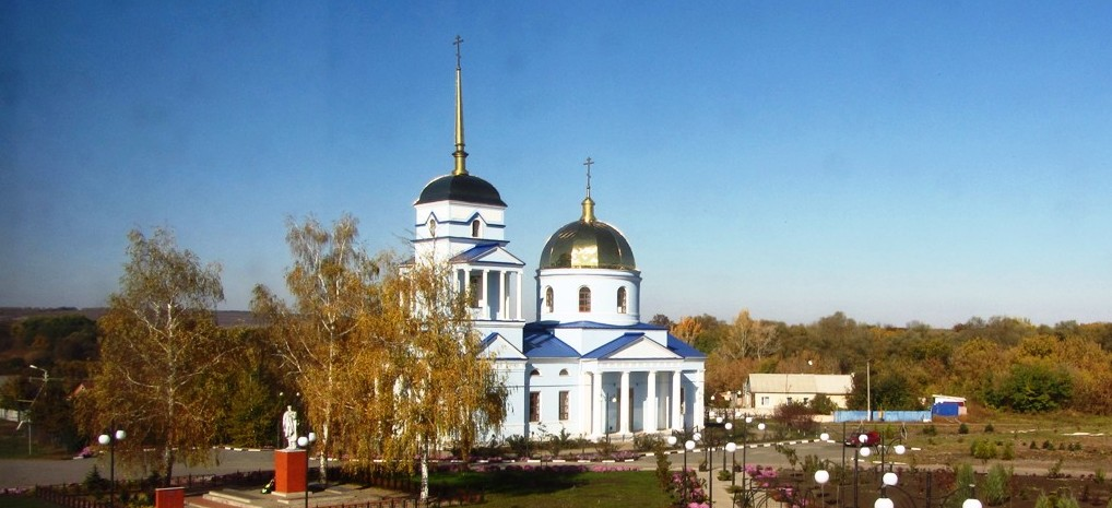 Ютановка. Тихвинский храм 2020
